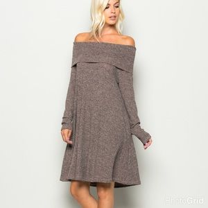 Cowl Neck Winter DressThis Dress